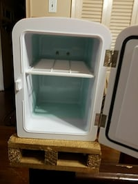 white compact refrigerator Dallas, 75217