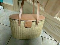 Wicker purse Bartow County