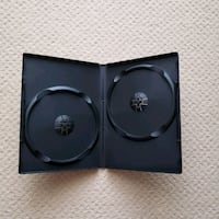 18 Standard Double DVD Case Empty Replacement Boxe