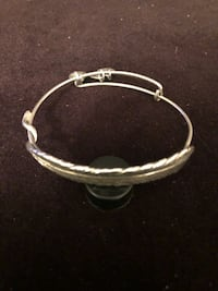 Alex and Ani Quill Feather bracelet.