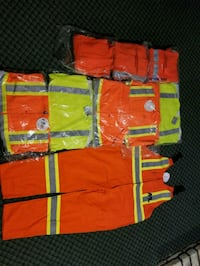 red and yellow zip-up jacket Winnipeg, R3V 1X4