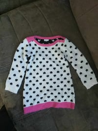 white and pink sweater Myrtle Beach, 29577