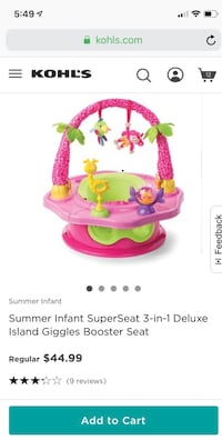 Summer infant supper seat 3-in 1 Lorton, 22079
