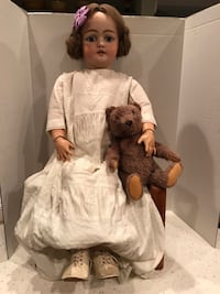 Antique Porcelain Doll From Germany Millsboro, 19966