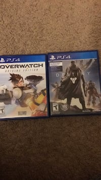 Over watch and destiny ps4 games Annandale, 22003
