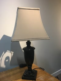 black and white table lamp Calgary, T2K 0J4