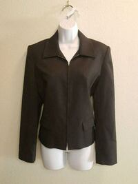 NY & Co. City Stretch Women's Zip-Up Blazer Jkt-6 Las Vegas, 89121