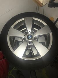 17 in BMW rims with all season tires Surrey, V3R 0J1