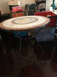 Dinette table, great for the porch or balcony