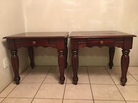 SET OF TWO NICE END TABLES (ONE NEED REFINISH ) Blue Mound, 76131