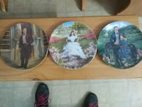"3 ""Gone with the Wind"" plates Spotsylvania Courthouse, 22551"