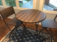 Two chairs with table - Patio or Deck ROCKVILLE