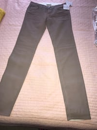 Leather look coated jeans light grey Centreville, 20120