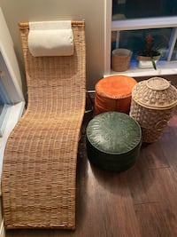 BOHO RATTAN CHAIR - LOUNGE
