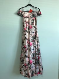 Beautiful Ankle Length Floral Gown Brampton