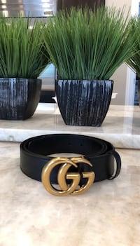 Black GG belt with box Arlington Heights