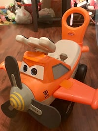 Toddler's PIXAR Cars the Movie; Airplane Rider with MANY Features! Hagerstown, 21742