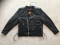 NEW Milwaukee Leather Police Style Leather Biker Jacket XL Simi Valley, 93063