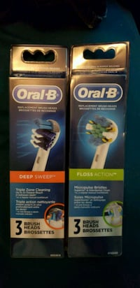 two Oral-B toothbrush boxes Port Richey, 34668