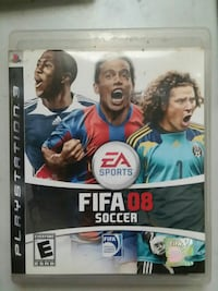 Fifa 08 Soccer Sony PS3 game case..