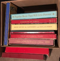 11 boxed sets of vinyl records old vintage