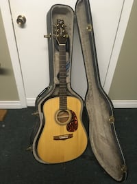 Hard Guitar Case & Acoustic Guitar with accessories Ottawa, K2C 2C4