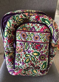 green, pink, and purple Vera Bradley backpack Weston, 33326