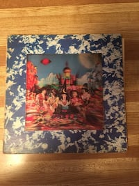 LP Album The Rolling Stones There Satanic Majesties Request 3D cover