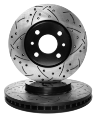 CROSS DRILLED & SLOTTED BRAKE ROTORS $50.00 & UP ****MANY MAKES & MODE
