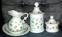 Vintage LORD & TAYLOR China Set Made in JAPAN Silver Spring
