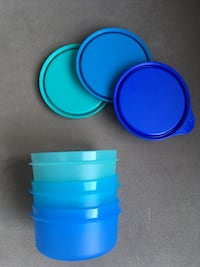 Tupperware Şeker Üçüzler 250ml *3