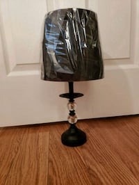 Black table lamp Clearwater