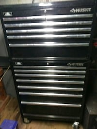 black and gray Craftsman tool chest Gainesville, 32608