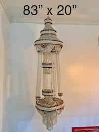 Seashell home decor for attachment to ceiling. You can add a light in it. Brentwood, 20722