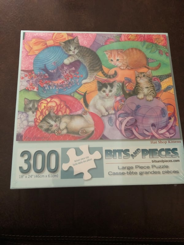 300 Piece Jigsaw Puzzle / NEW unopened 581363cd-59ab-4b65-aa0d-8ede0cb03a06