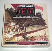 1983 Star Wars Return of the Jedi Battle at the Sarlacc Pit Board Game