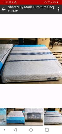 Blue MAX™ 1000 Plush iComfort Mattress Brand New and box spring QUEEN  Wilmington