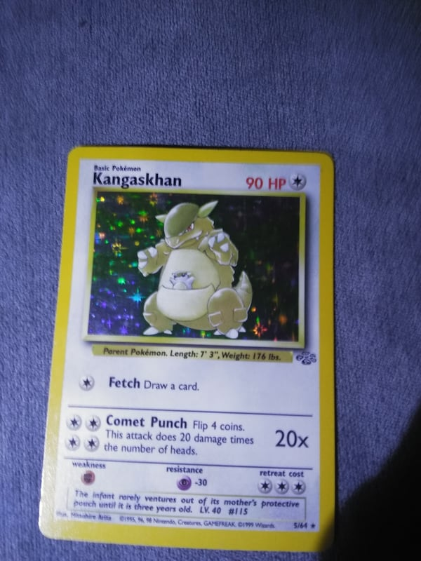 Rare pokemon cards. 5