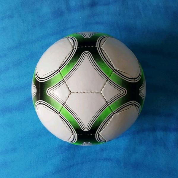 Pallone in cuoio - Evertop - Biancoverde