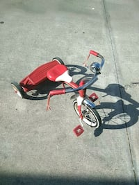 red and black Radio Flyer trike Port St. Lucie, 34986