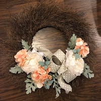Spring door wreath  Oakville, L6H 2M8
