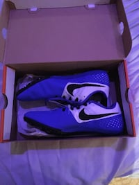 blue nike soccer cleats in box Germantown, 20874