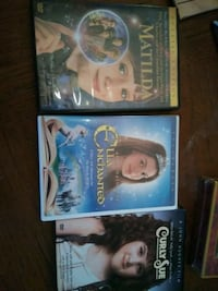 three assorted DVD movie cases New Albany, 47150