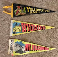 Vintage Sports & National Parks Pennants Baltimore, 21236