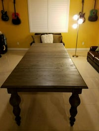 brown wooden table with chair Henderson, 89011