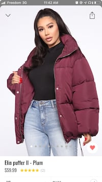 Fashion Nova Coat (size M) Waterloo, N2L 1N9