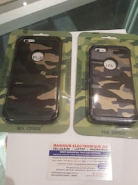 gray-black-and-beige camouflage iPhone 6 and iPhone 6 Plus cases Montréal, H1G