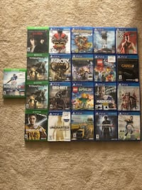 Assorted xbox one and PS4 games Hudson, 34667