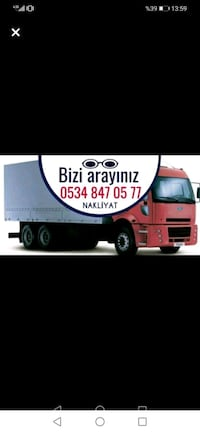 Nakliye nakliyat (moving home and office)  Zübeyde Hanım