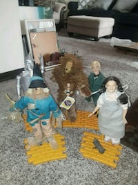 Wizard of oz characters  Greenfield, 53228
